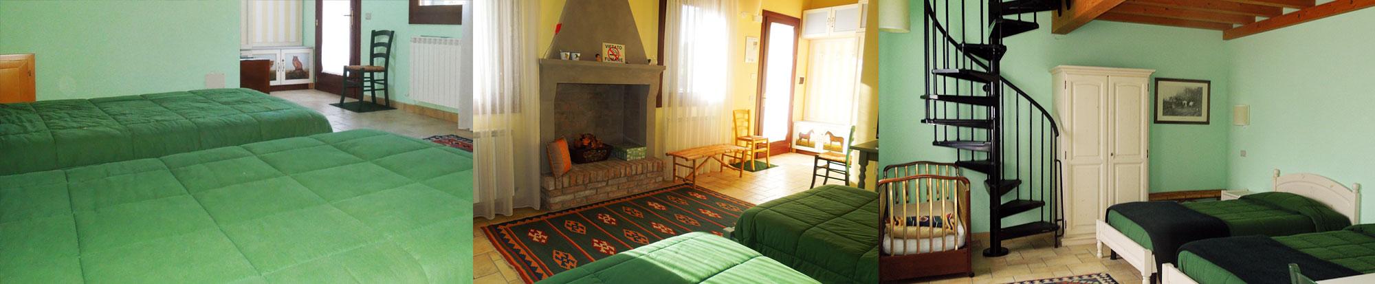Camere bed and breakfast la presa delta del po agriturismo la presa - Camere da letto veneto ...